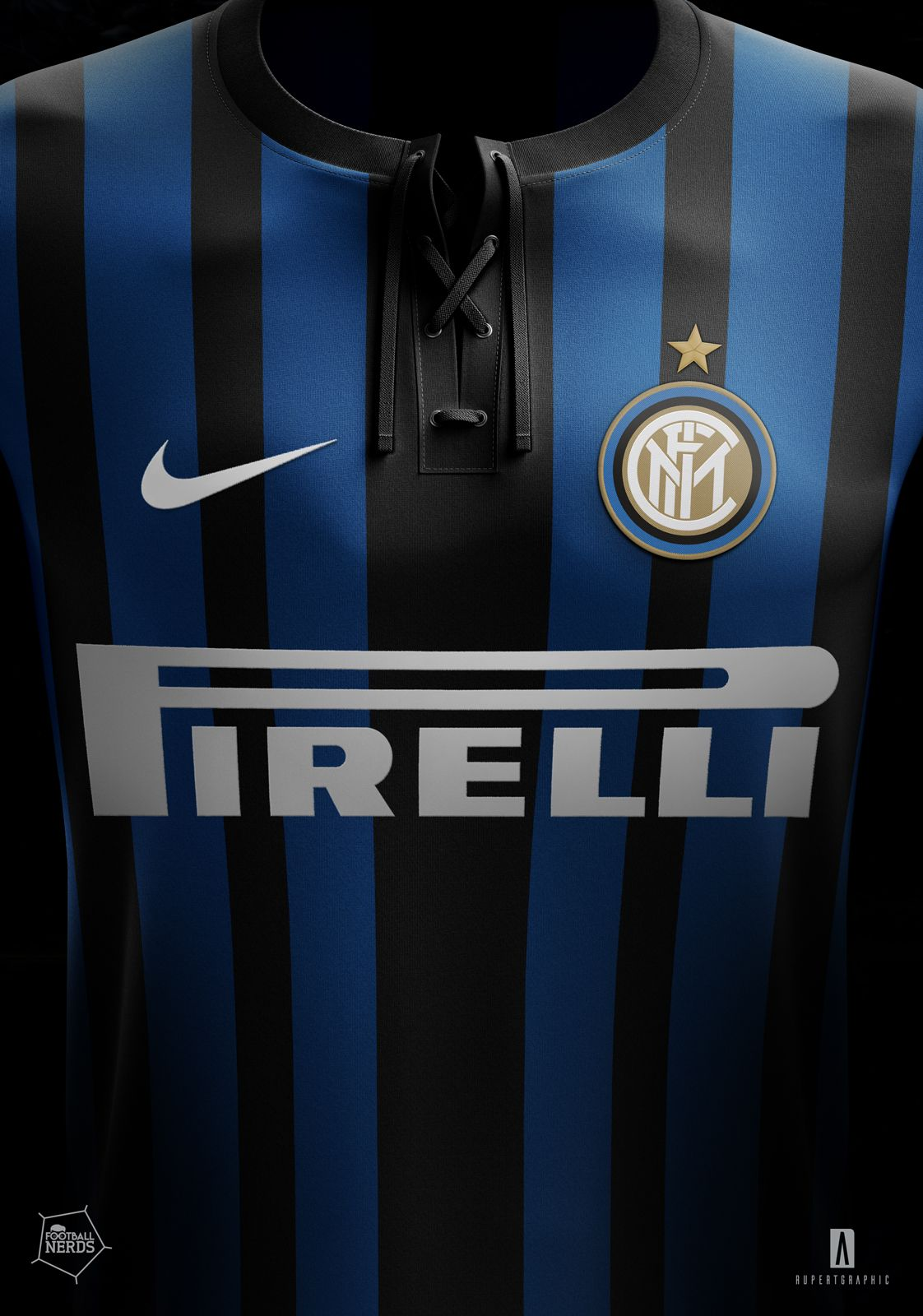 new styles 5b261 6b46c The new Inter Milan 2017-2018 jersey will introduce a unique stripes design.