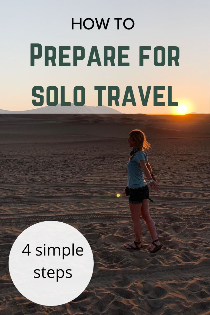 Wishing you had the courage to travel solo? Wondering how on earth you can get there? Follow these 4 simple steps. #solotravel #travel #backpacking #solofemaletravel #travelalone