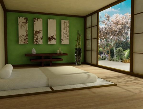 Zen Green Bedroom Design Japanese Style Bedroom Zen Bedroom Japanese Interior Design