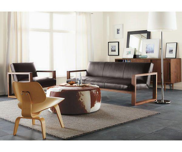 Zane Leather Sofa - Sofas - Living - Room & Board | Begley\'s New ...