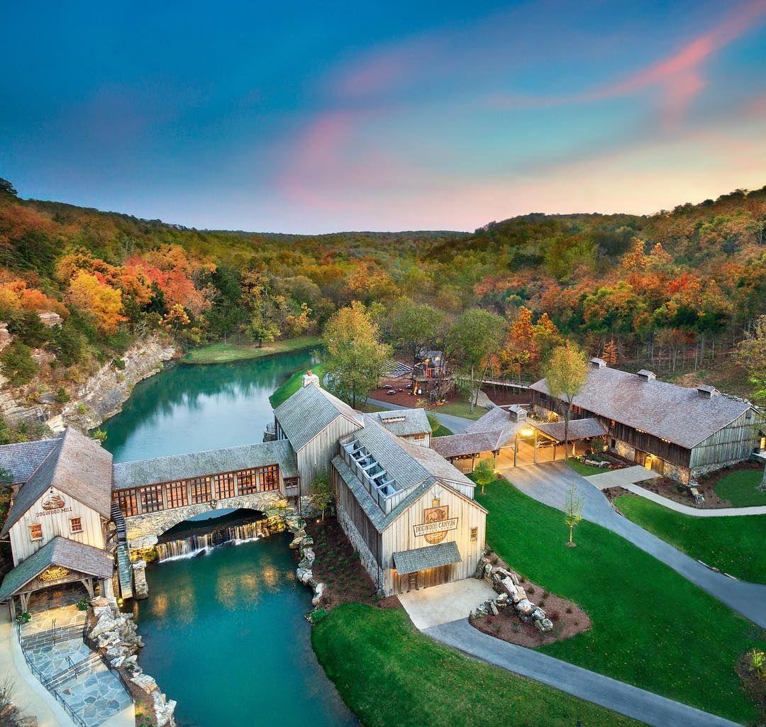 Ridgedale, Missouri Dogwood canyon, Vacation cabin