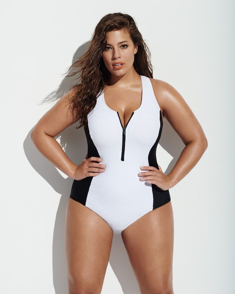10135691e38cc Ashley Graham Flaunts Her Curves in Forever 21 Swimsuit Campaign ...