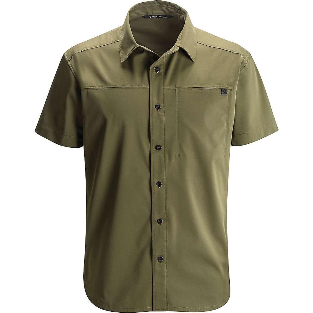 Black diamond menus ss stretch operator shirt products pinterest