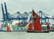 Edme and Gladys at Felixstowe Docks