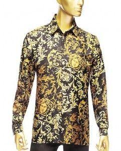 this silk Versace Medusa print shirt is EVERYTHING   YaaaMean ... 3dfc638e7aa