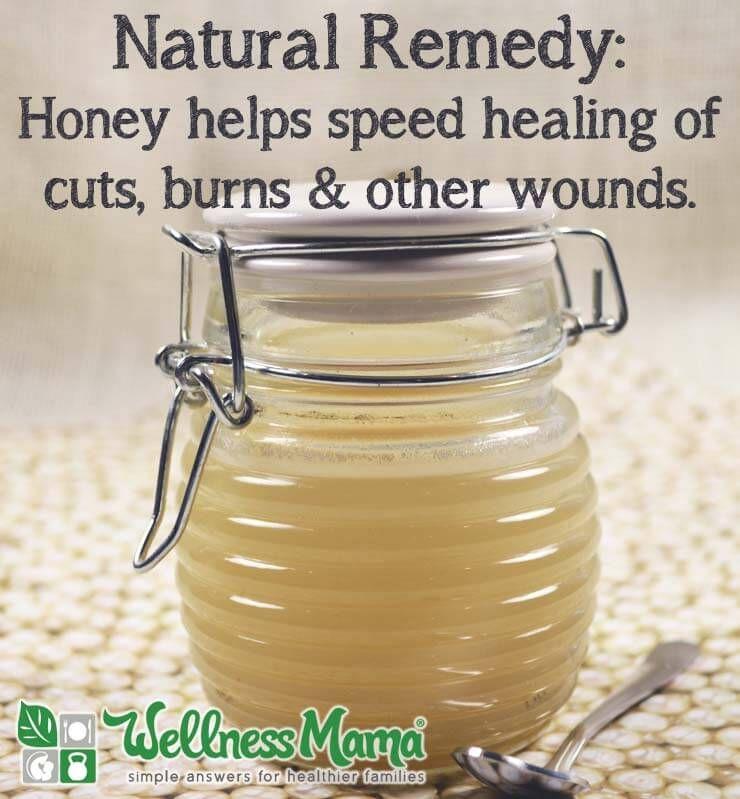 Honey For Healing Cuts And Burns Decosta Rica Wellness