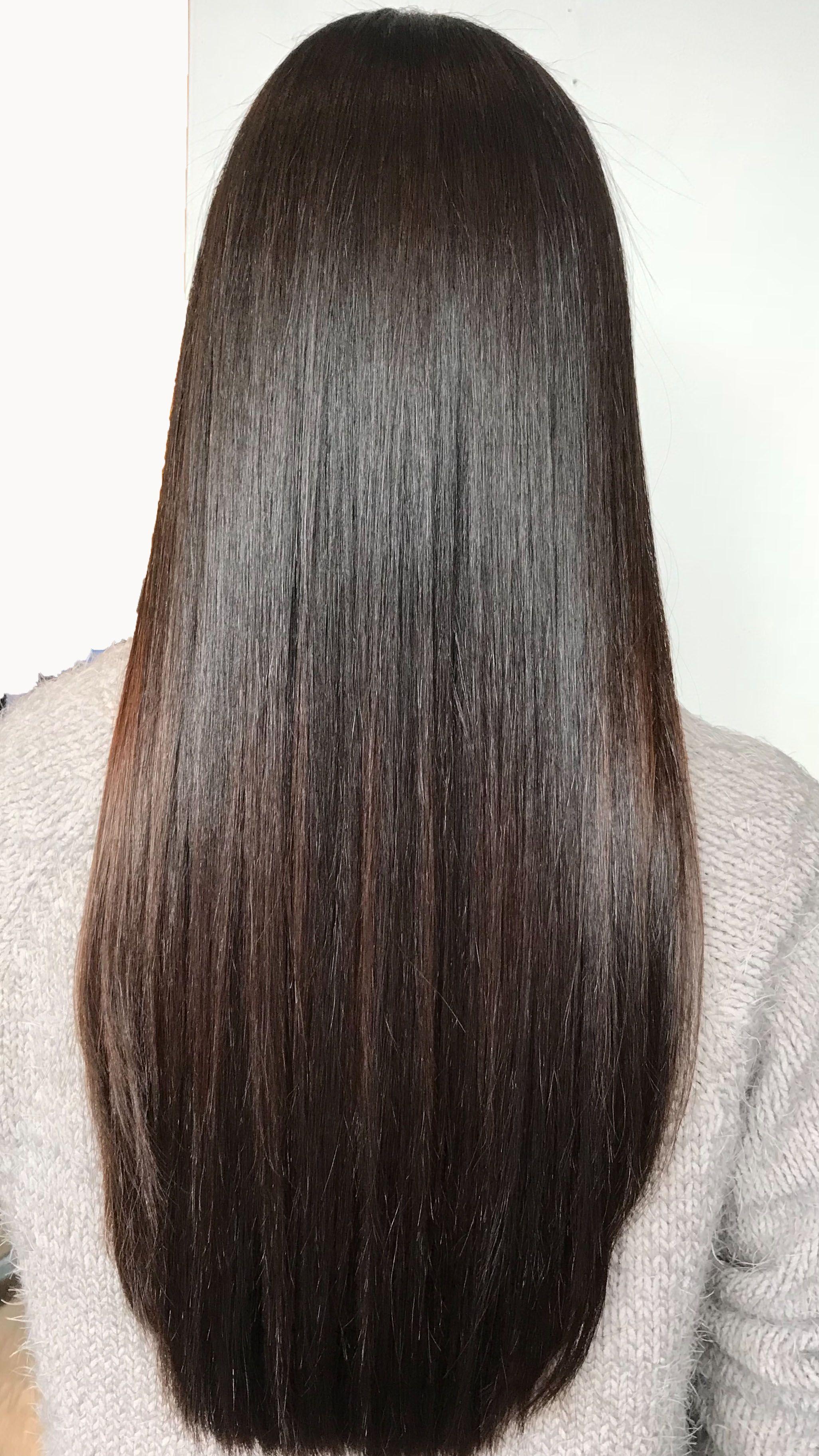 Japanese Straightening By Sibylle At Patrick Evan Salon Silky Smooth Hair Smooth Hair Hair