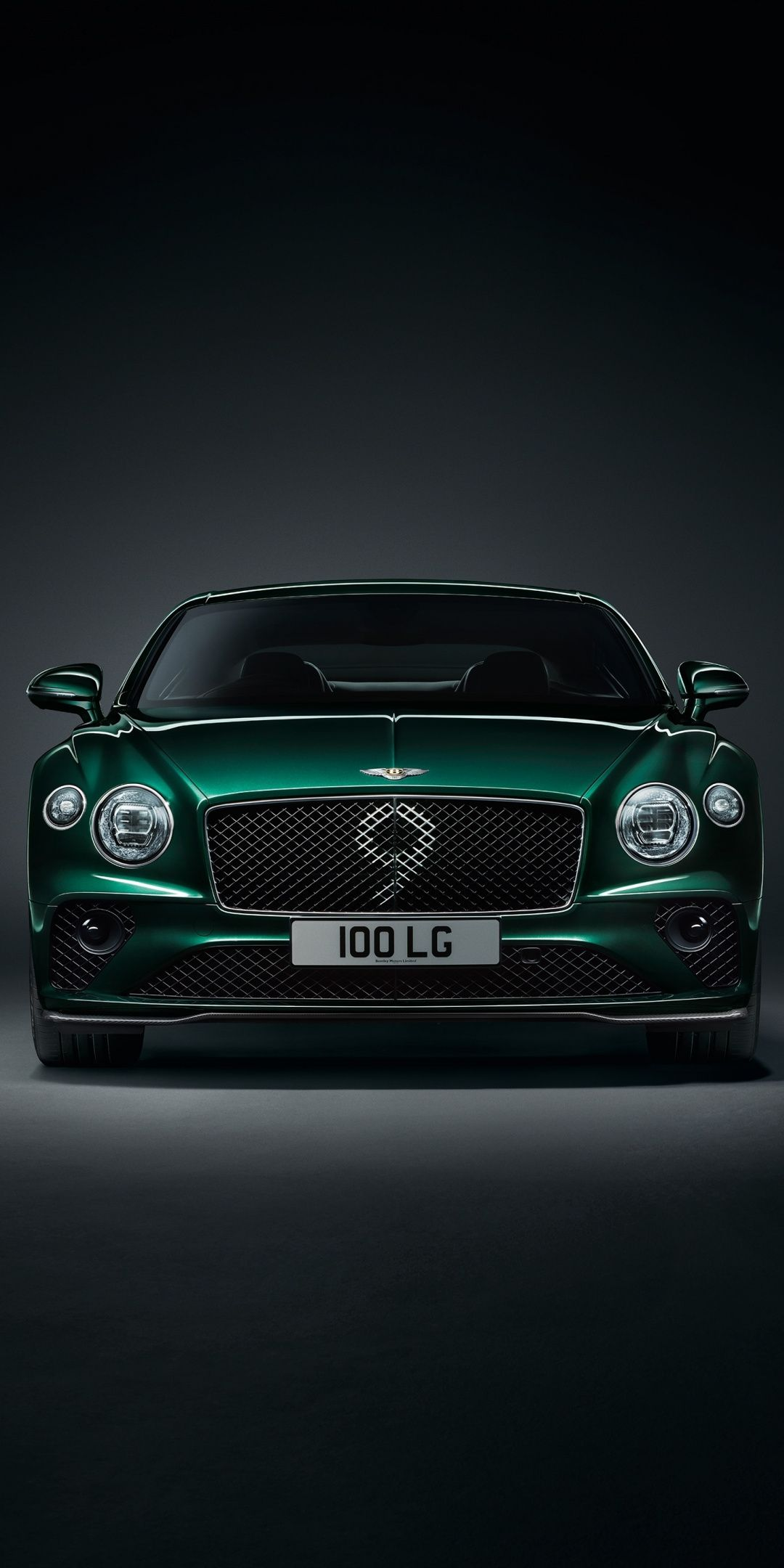 Bentley Continental Gt Number 9 Edition Green Front 1080x2160