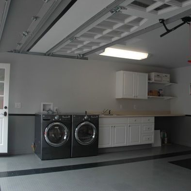 Laundry In Garage Design Pictures Remodel Decor And Ideas For