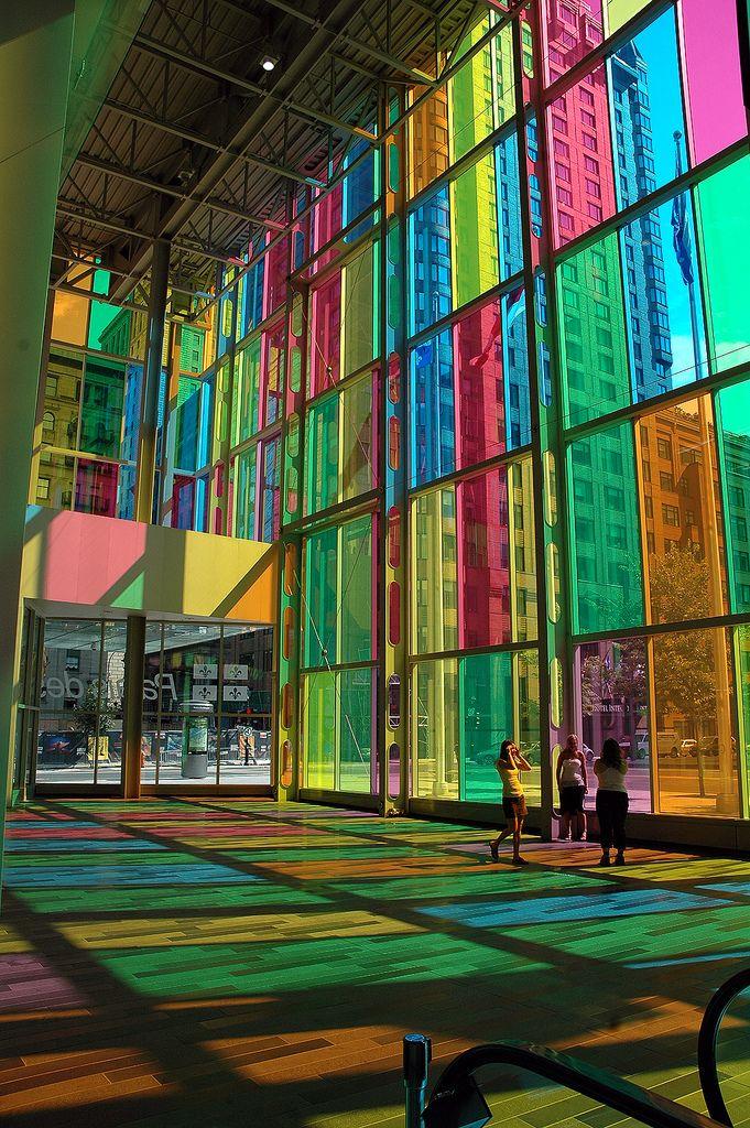 Blaze Of Colour By Caribb Architecture Amazing Buildings Office Colors