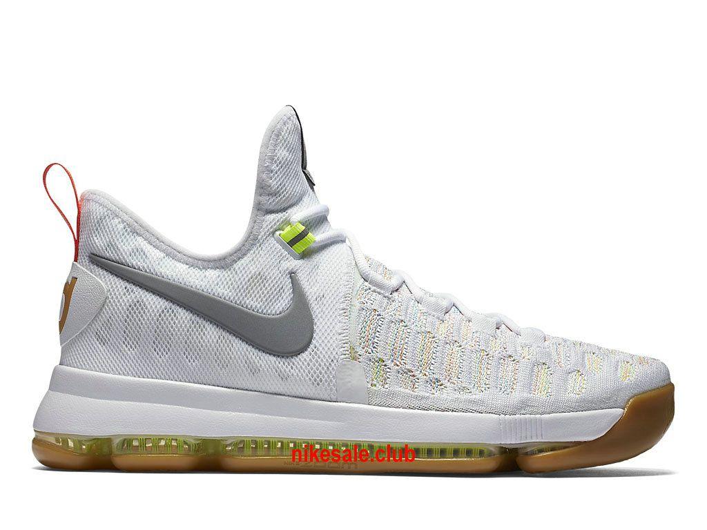 promo code 34c51 3d202 Chaussures De BasketBall Nike KD 9 Summer Pack Prix Pas Cher Pour Homme…