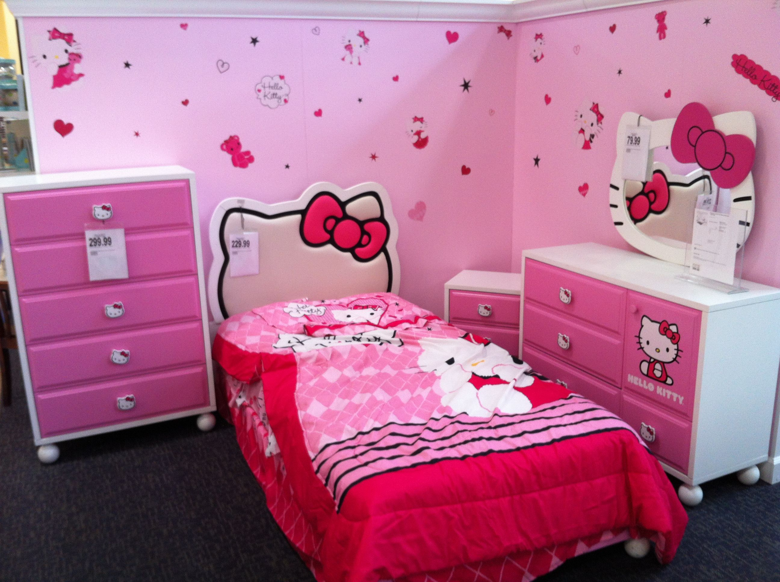 Pin by Victoria Roberts on Kitty  Hello kitty bedroom, Hello