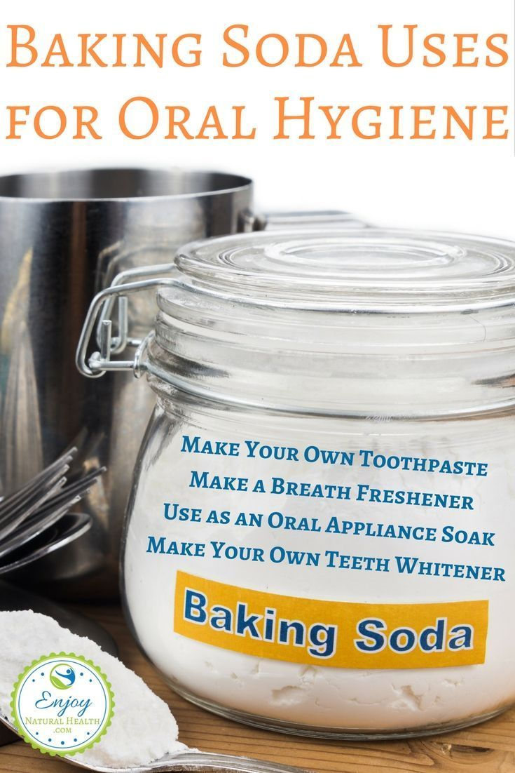 Did you know you can make your own toothpaste with baking
