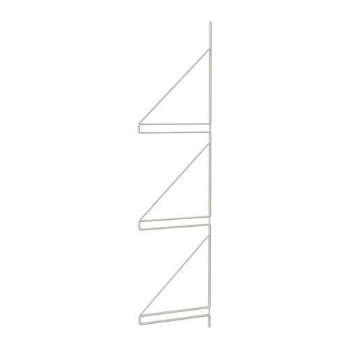 EKBY GÄLLÖ Väggavel IKEA Kan bära 3 hyllplan;  skapa mer väggförvaring utan att behöva borra fler hål i väggen.
