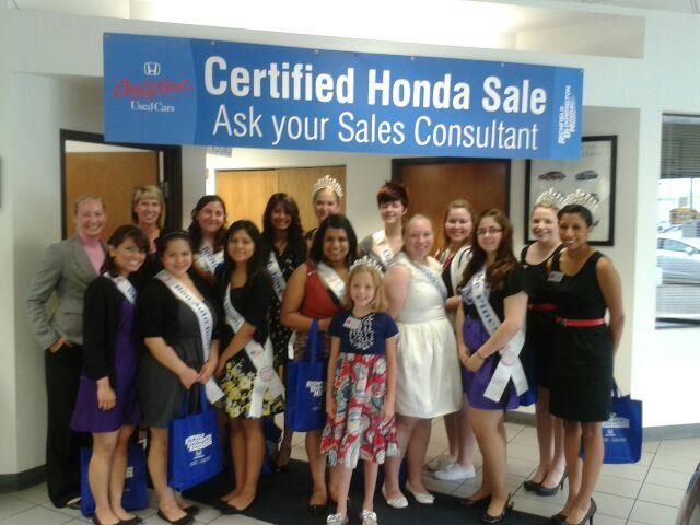 The Richfield Ambassadors Visited Rb Honda For A Business Day We Enjoyed Having You And Appreciate Everything You Do For The Commun Richfield Honda Ambassador