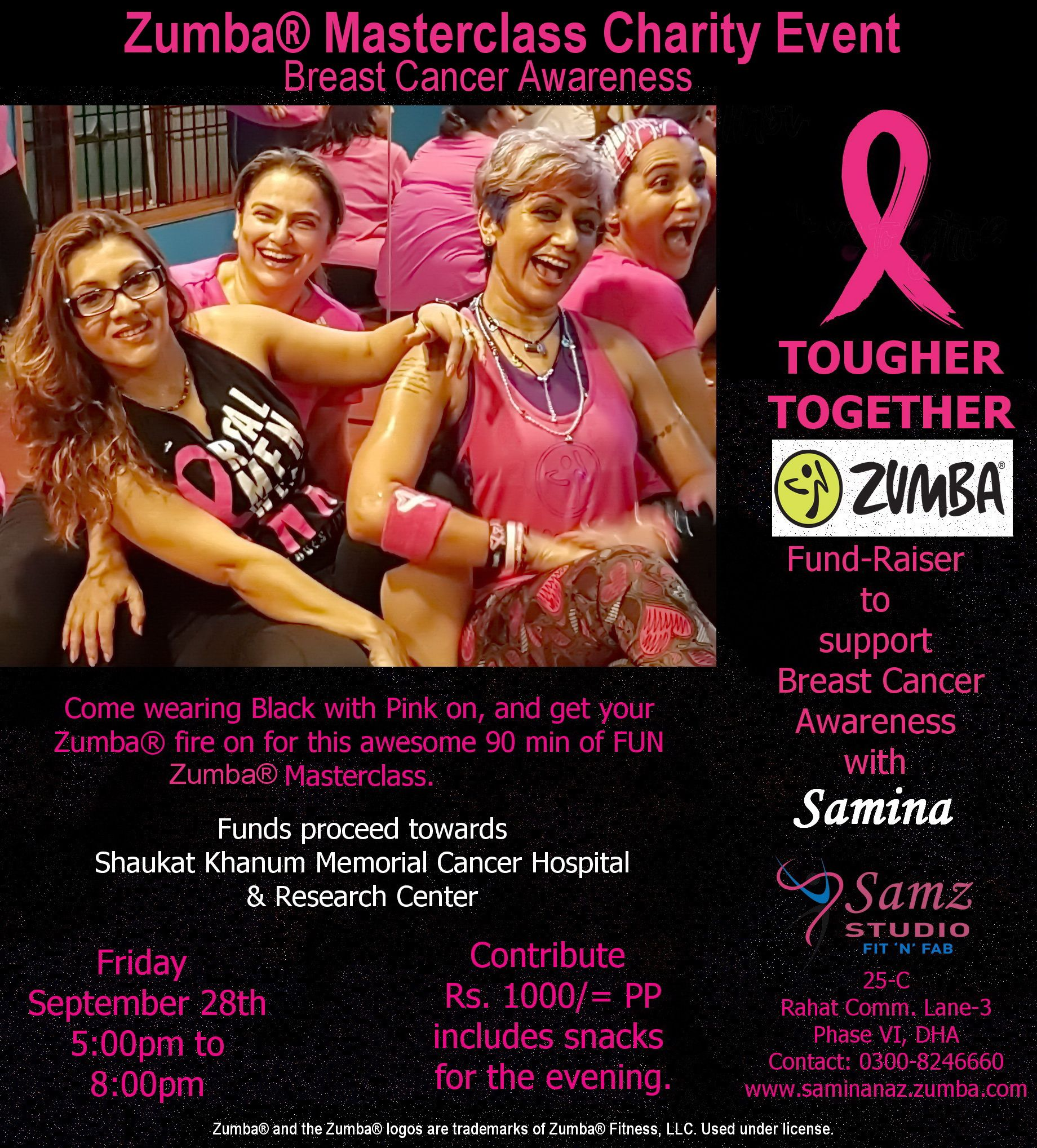 photo Beating Breast Cancer With Zumba