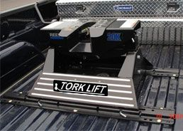 A 5th wheel hitch courtesy of Torklift Central. Hitch