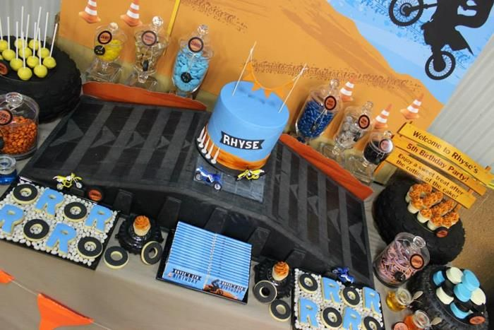 Dirt Bike Birthday Party Planning Ideas Supplies Idea Cake