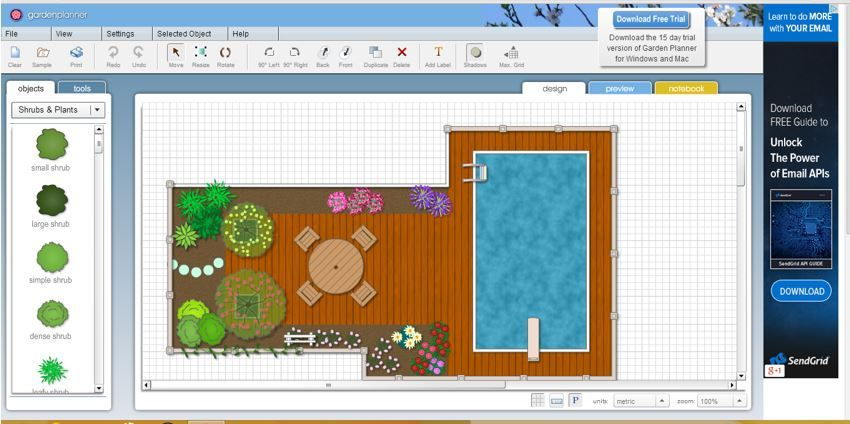 Top Garden Planning Software You Must Use To Make Your Dream Garden With The Perfect Design Garden Planning Software Garden Planner Garden Design Software