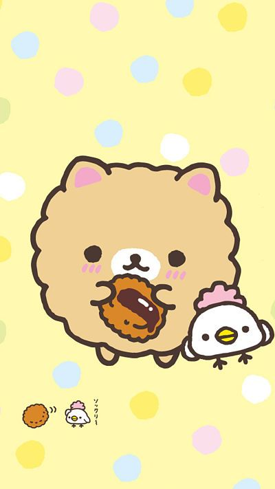 Rilakkuma Find More Super Cute Kawaii Wallpapers For Your IPhone Android Prettywallpaper