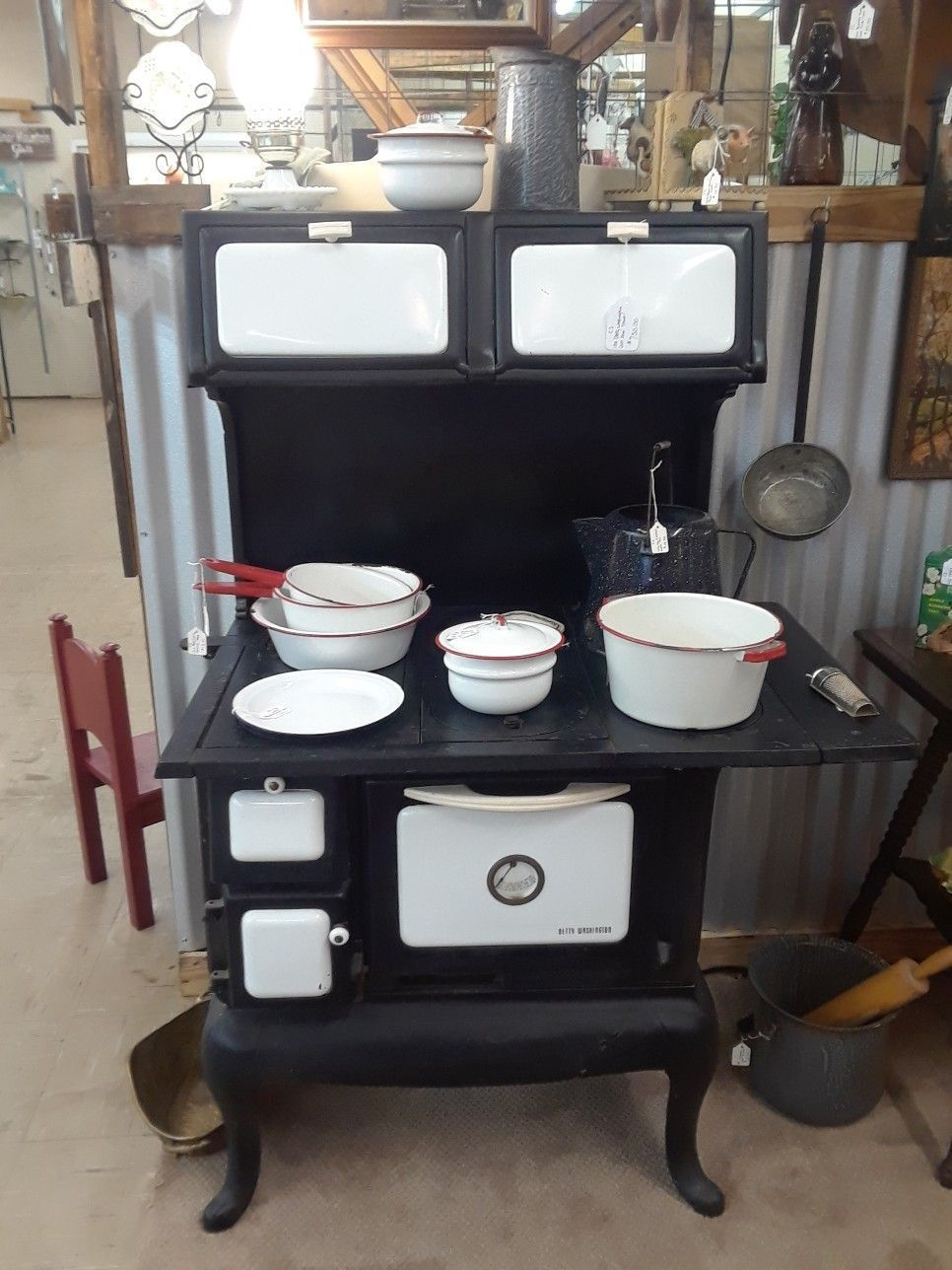 cast iron kitchen stove cherry brook betty washington kitchenstoves