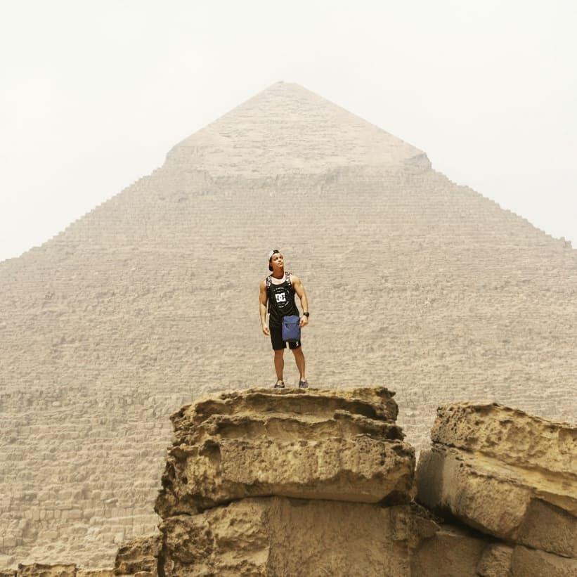 Grreat Pyramid of Egypt . . . . . . . . . #gym #gymlife #gymmotivation #gymfreak #gymaholic #gy...