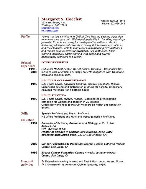 onebuckresume resume layout resume examples resume builder resume - layout of resume