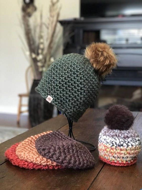 Super Bulky Crochet Hat Pattern For Beginners With Video Tutorial
