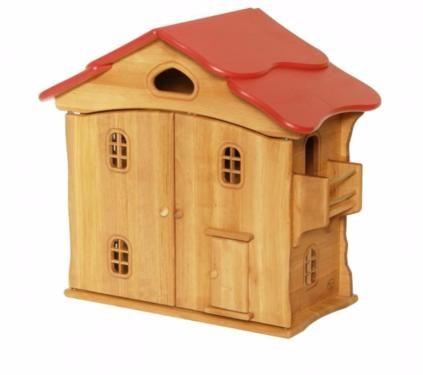 Drewart Puppenhaus Erle Holz Puppenstube Holzhaus Grimms Waldorf In