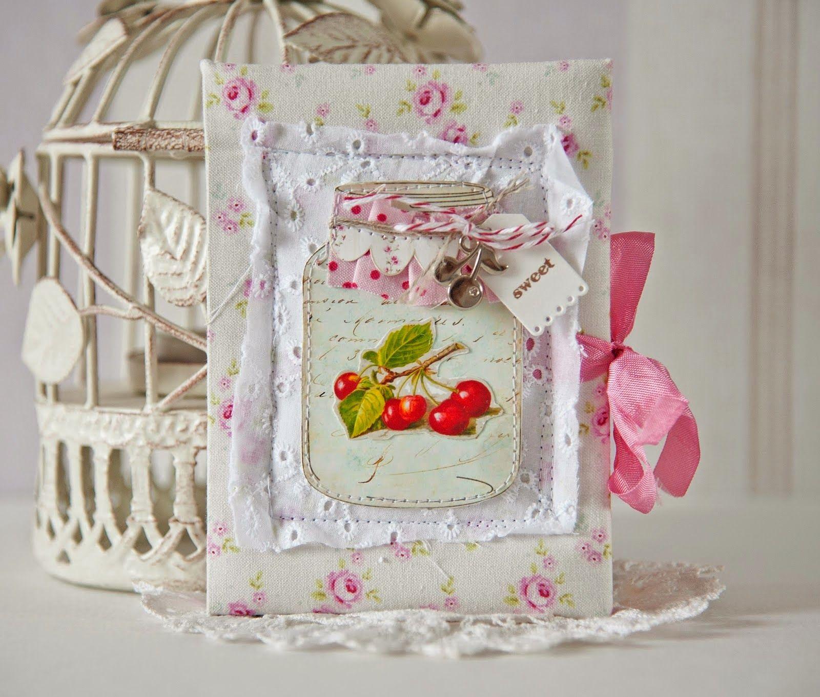 Вышивки открытка скрапбукинг