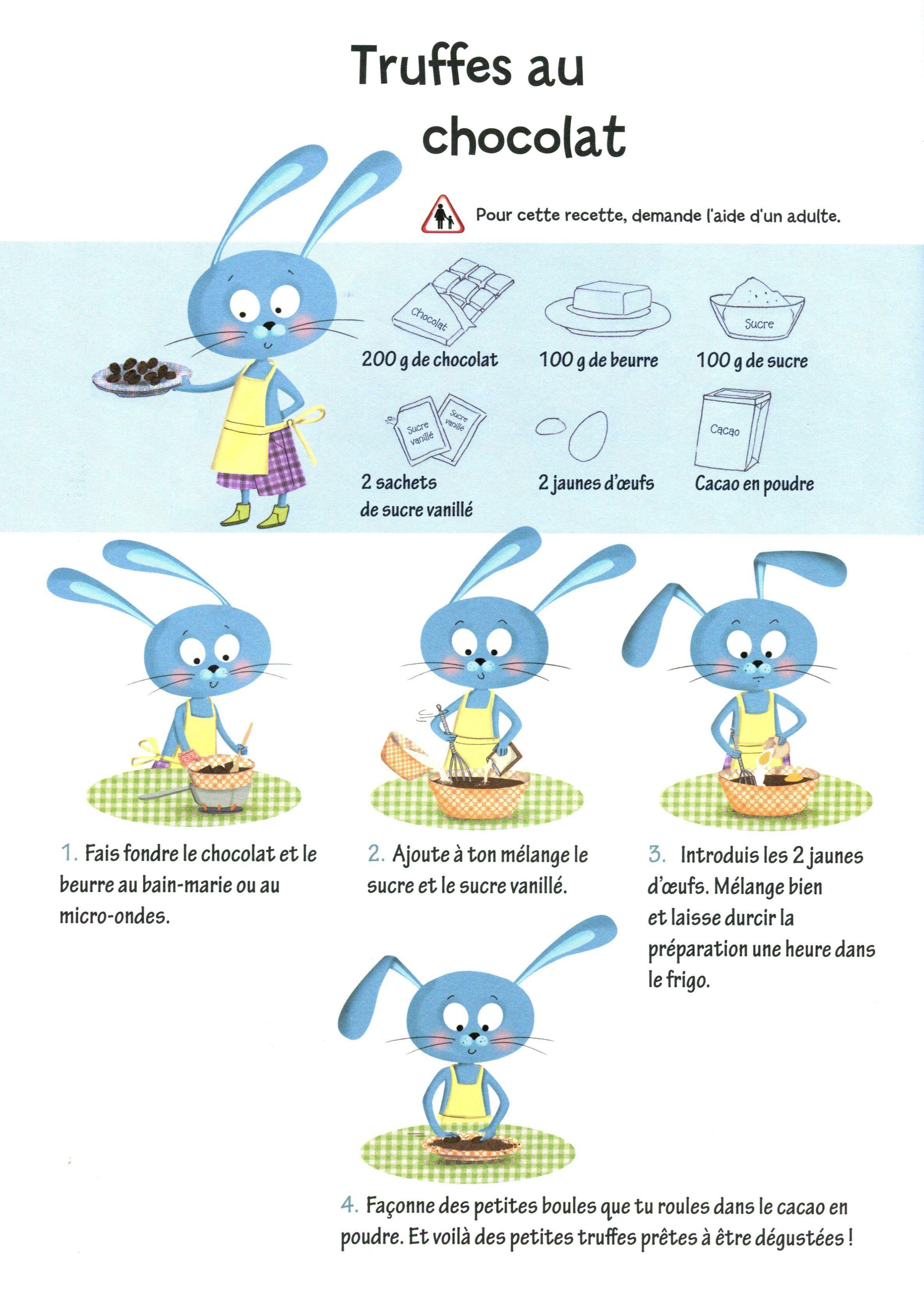 Truffes au chocolat cuisines enfant recettes de cuisine for Stage cuisine enfant