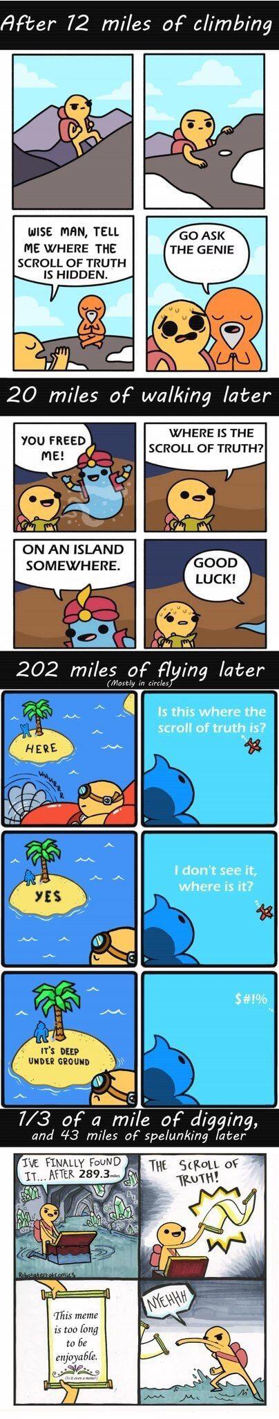 Best Scroll Of Truth Meme