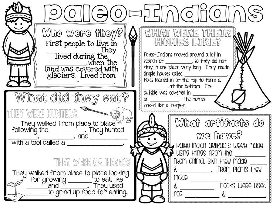 Prehistoric Native Americans: Paleo-Indians, Archaic