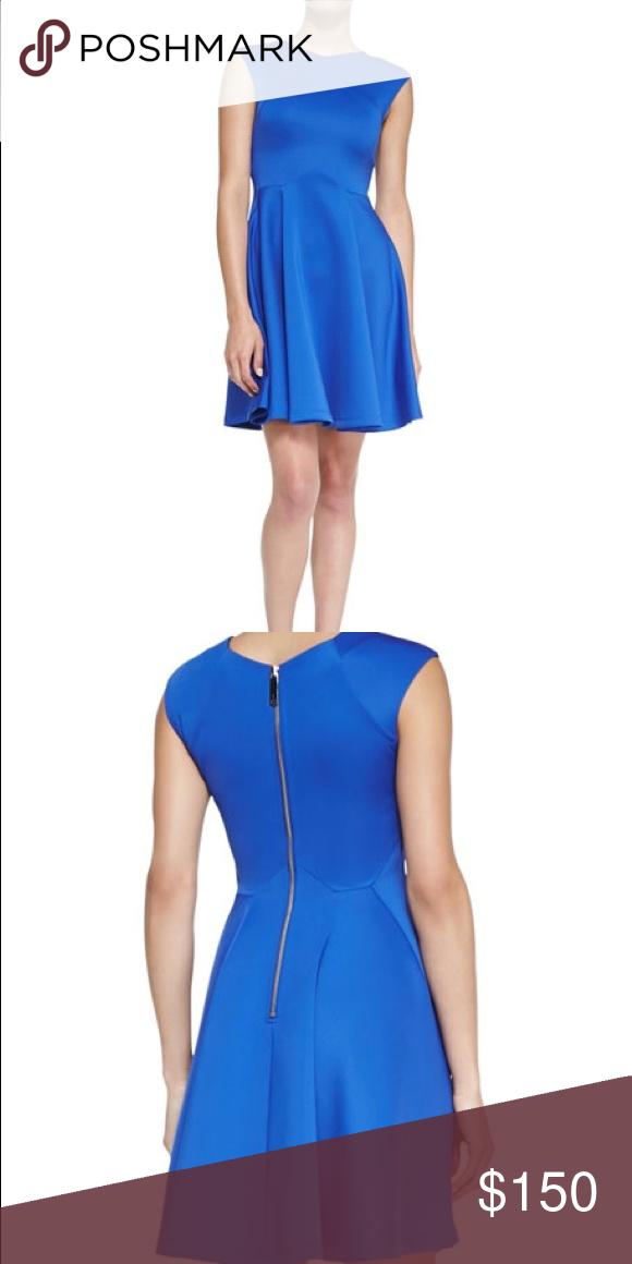 6b3eaa7b9f0ad Tom Baker London Crossover Seam Skater Dress This Ted Baker London dress is  such an elegant