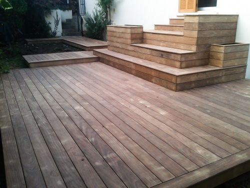 Concevoir une projet de terrasse bois Trätrapp Pinterest Gardens