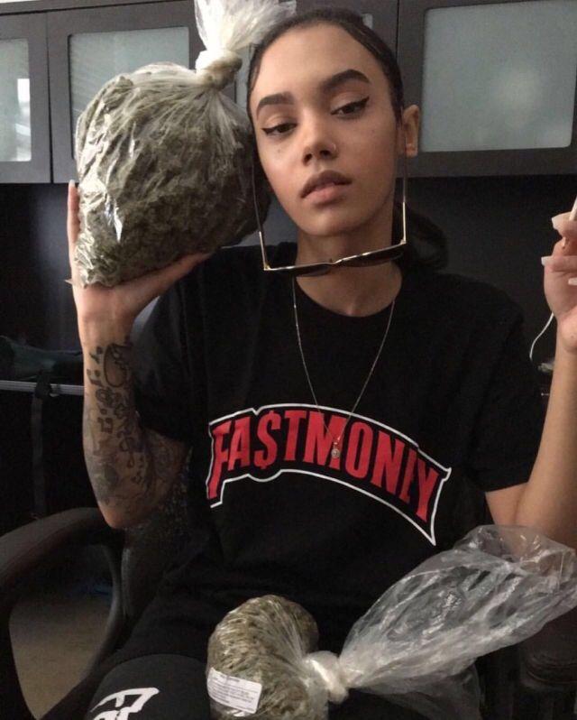 420 baddie