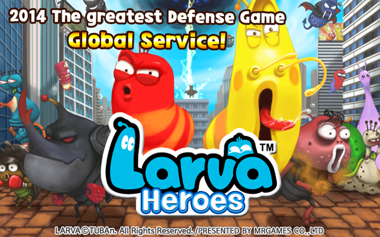 Larva Heroes Lavengers 2014 MOD APK Free android games