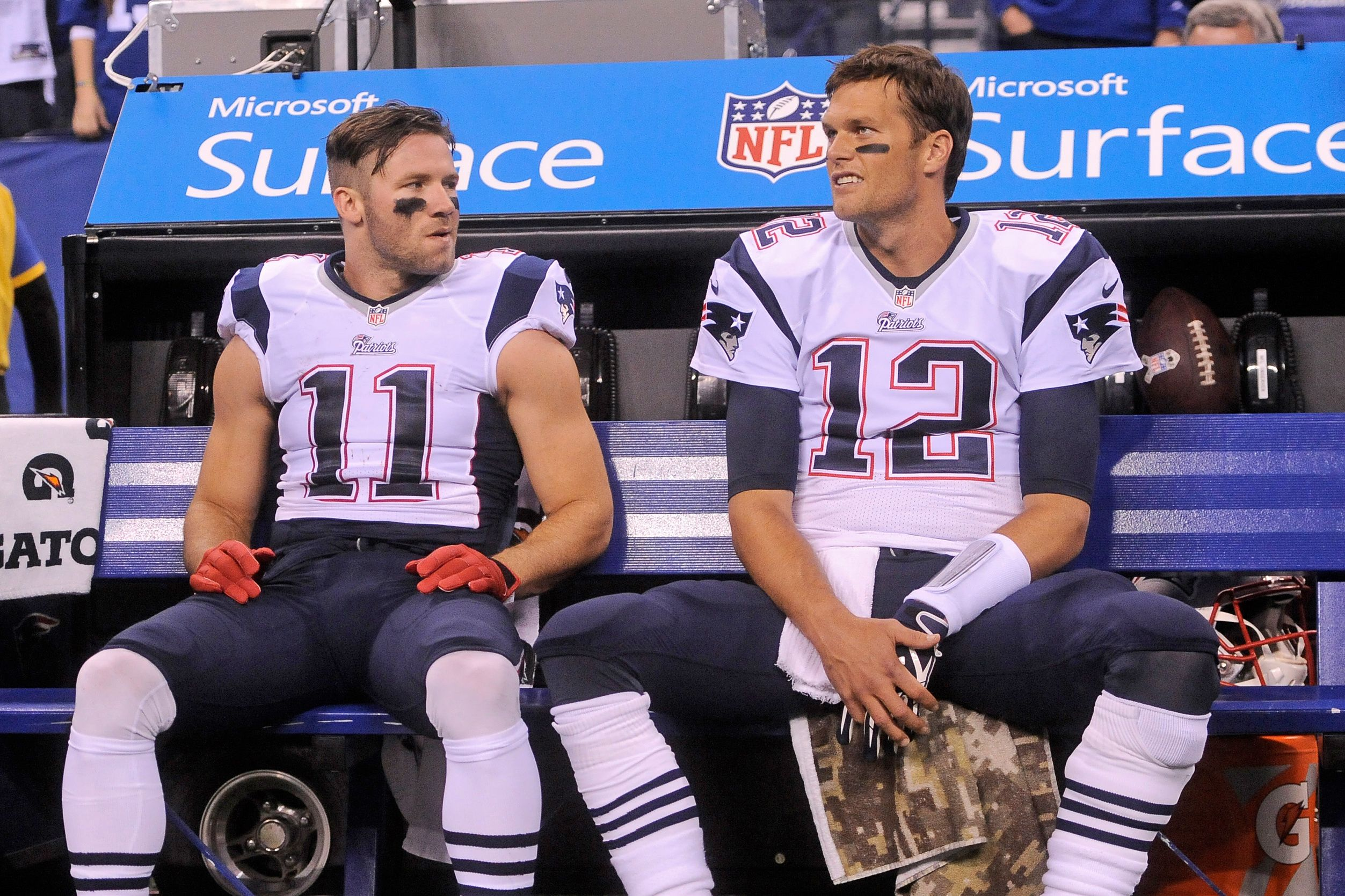 Julian Edelman On Tom Brady He Had Me At Hello New England Patriots Julian Edelman Patriots