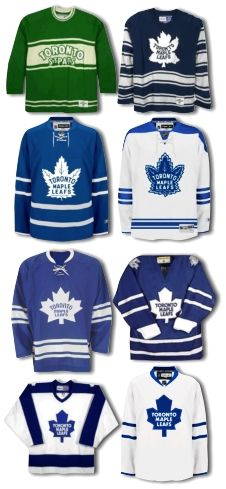 toronto maple leafs new jersey