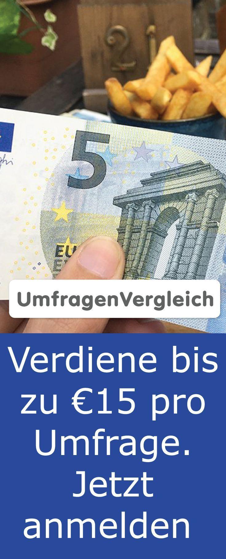 15 Euro Pro Umfrage