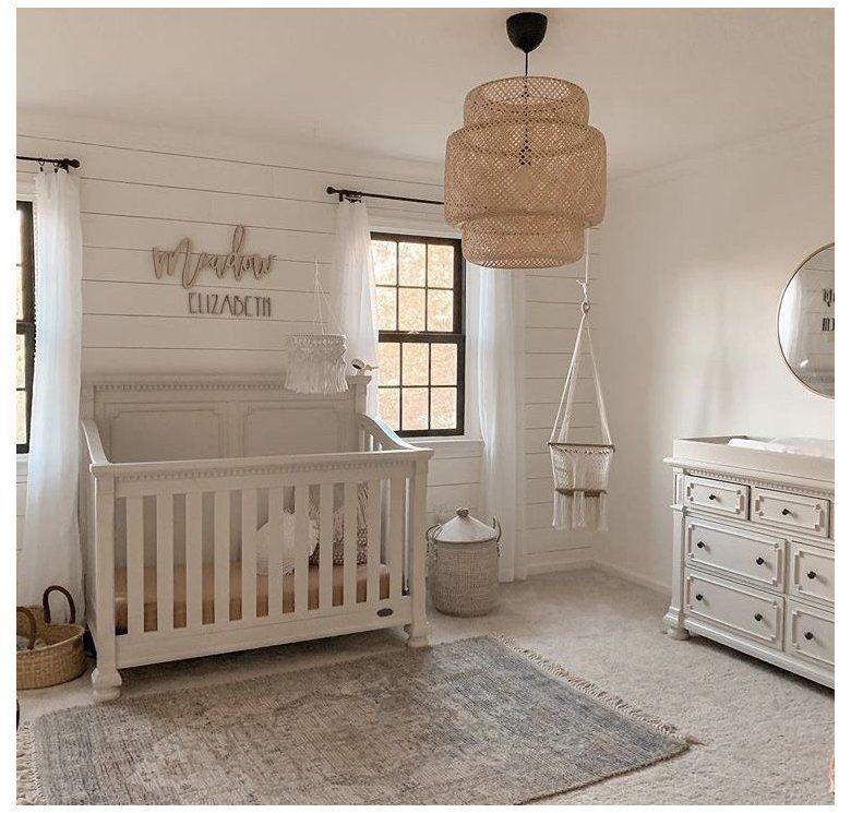 P I N T E R S Katelynpippin Gender Neutral Farmhouse Nursery Genderneutralfarmhousenurs In 2021 Baby Room Girl