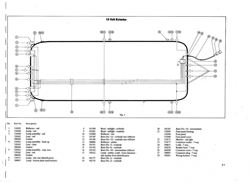Wiring to rear turn/ke lights - Airstream Forums ... on