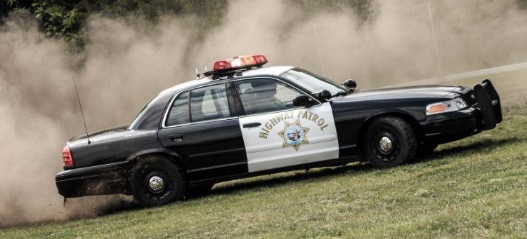 Ford Crown Victoria Chp Policie Auta Retro