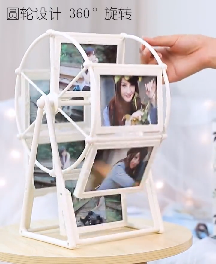Photo Frame Ferris Wheel Retro Rotating Windmill