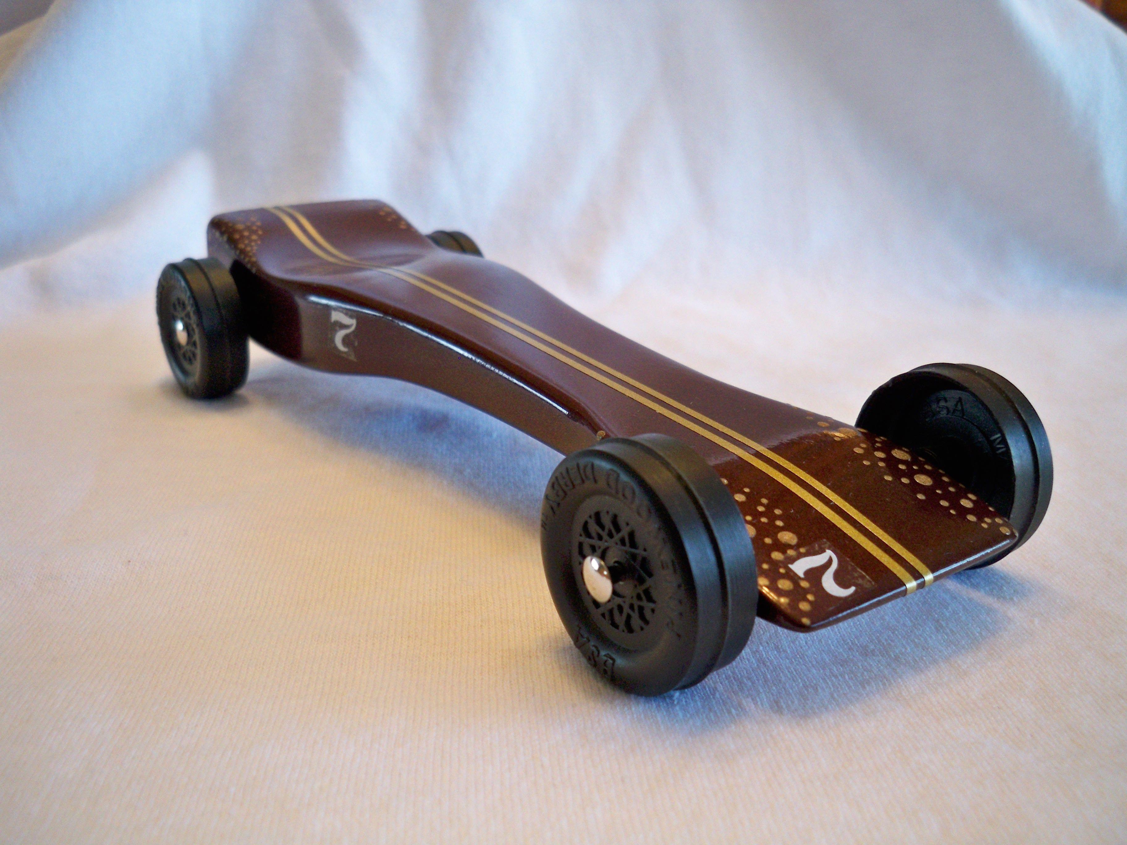 Open Class Pinewood derby car Free Shipping $125.00 Sold | Not yo ...