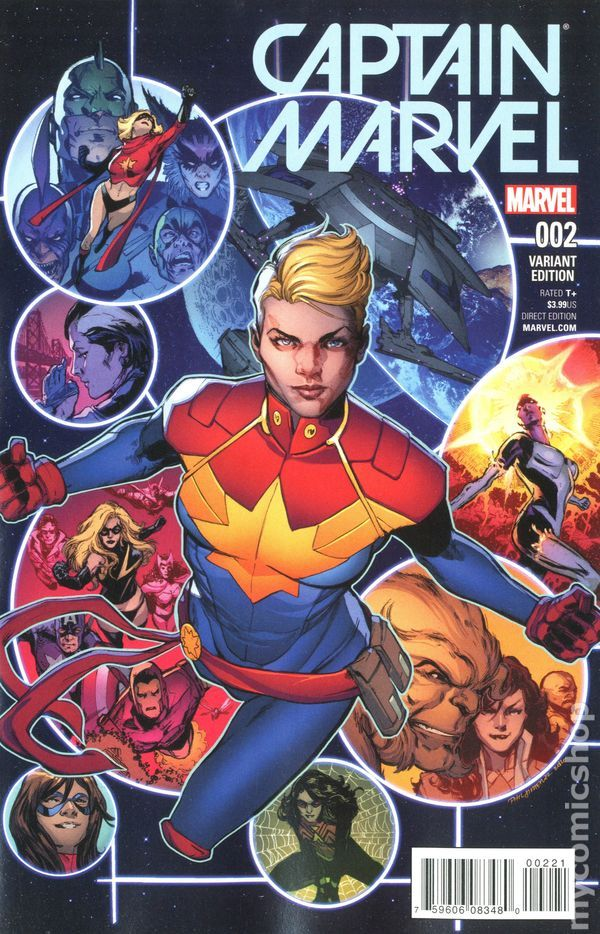 Captain Marvel (2016) 2C