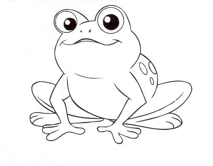 free frog printable coloring pages google search