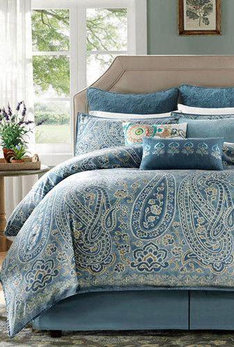 Blue Paisley Bedding Paisley Bedding Comforter Sets Bedding Sets