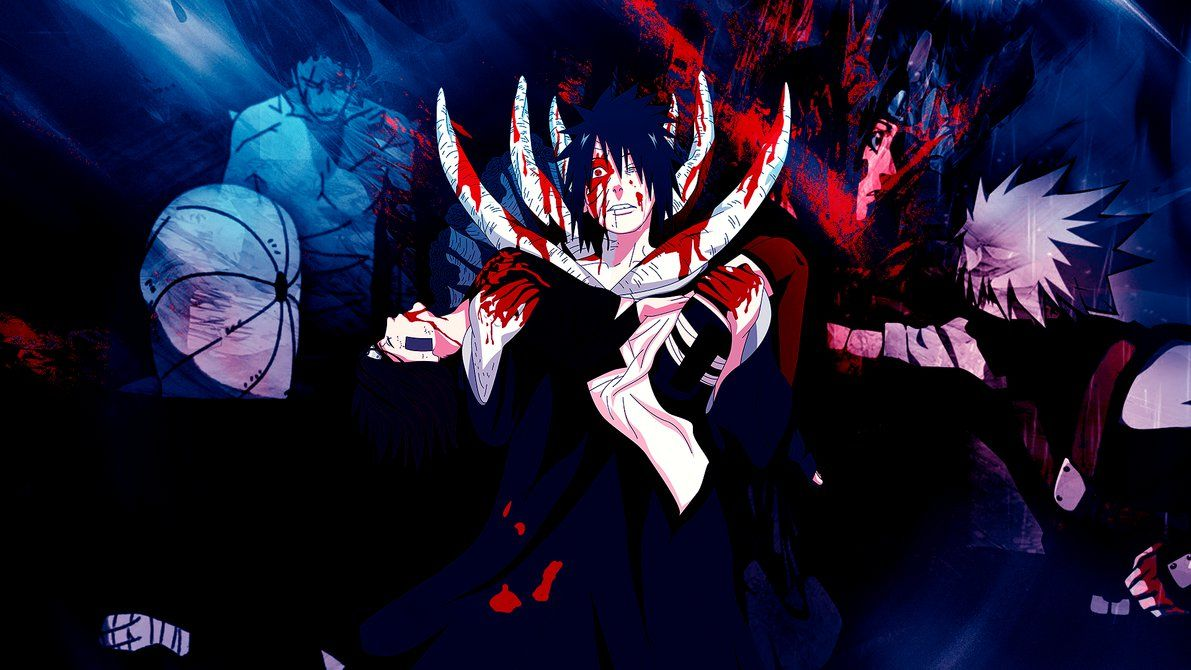 Obito Y Rin 2 Wallpaper By Gramcyyy On Deviantart Obito Uchiha