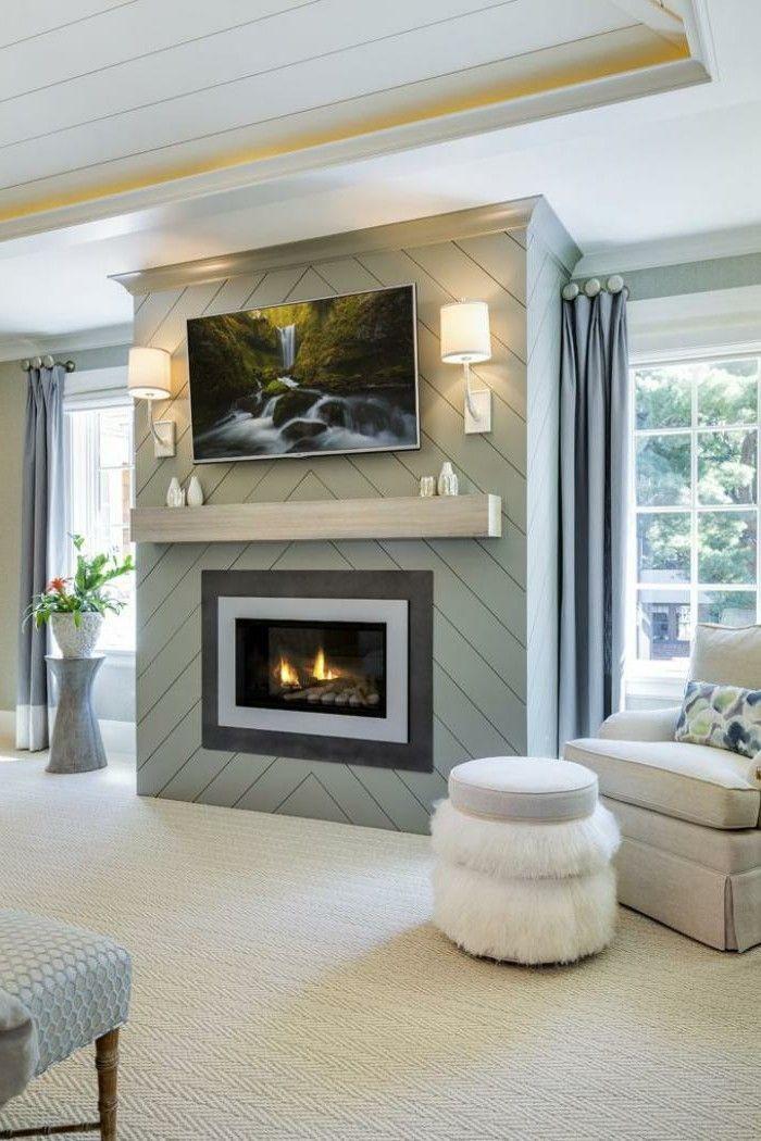Modern Kamin im wohnzimmer einbauen WOHNIDEEN Pinterest - wohnzimmer modern kamin